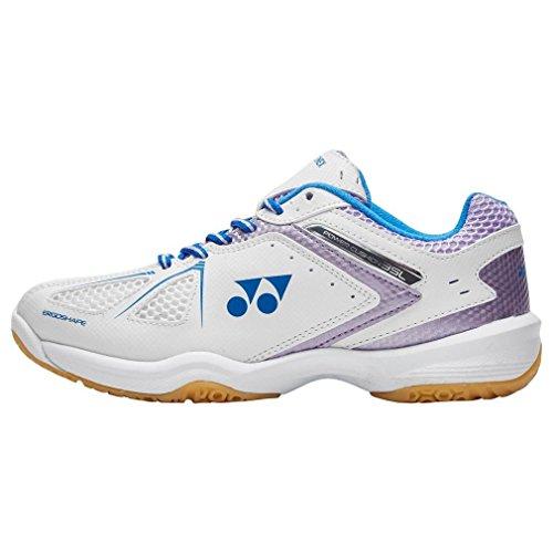 Yonex New Power Kissen 35 Lad Sport Badminton Schuhe Weiß, Weiß, 42
