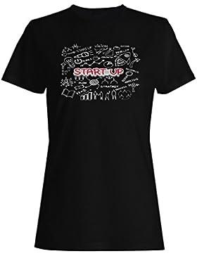 Finanzas negocio inicio éxito camiseta de las mujeres e326f