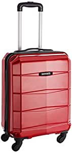 Safari Re-Gloss Polycarbonate Red Carry On (NEW-Re-Gloss-55-Red-4WH)