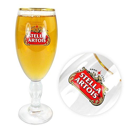 Tuff-Luv glass paints / Glasses / Barware CE 10 oz / 284ml for Stella Artois