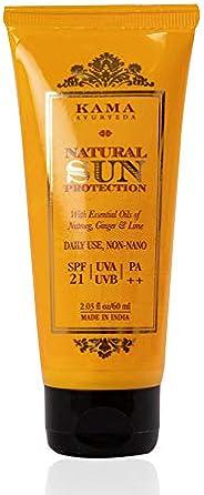 Kama Ayurveda Natural Sun Protection SPF-21, 60ml