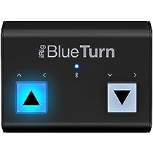 IK Multimedia IMIP-IRIG-BTURN-IN - Cambiador de página Bluetooth, color negro