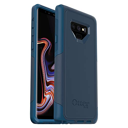 OtterBox Commuter Series Case for Samsung Galaxy Note9 - Frustration Free Packaging - Bespoke Way (Blazer Blue/Stormy SEAS Blue)