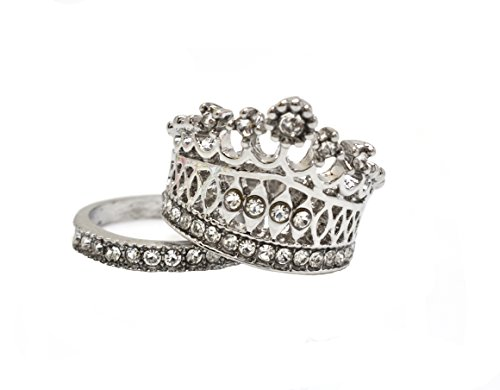 S.A.V.I Luxury High Quality Crown Ring Set