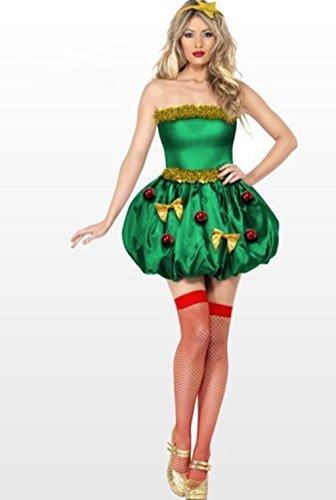 MFFACAI Frauen Damen Weihnachten Leistung Kleidung Weihnachten Elf Kostüm Weihnachtsfeier Kostüm Weihnachten Kostüme Kostüme Clown Kleidung,