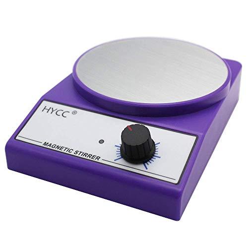 HYCC MX-3K Labor Magnetrührer, 122mm Durchmesser Aluminiumplatte, 3000 Umdrehungen/min, Max. Kapazität: 3000ml, Rührart