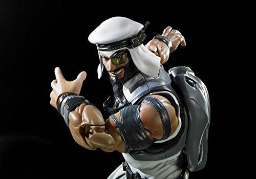 Rashid Figura 15 Cm Street Fighter V SH Figuarts 6