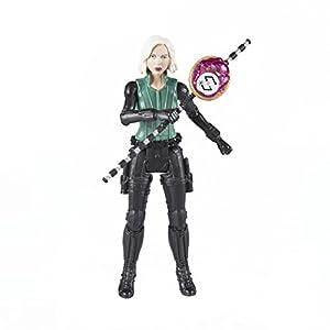 Marvel- Figura Infinity War, Black Widow con Gema y Accesorio (Hasbro E1411EU4)