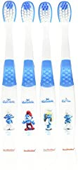 Brush Buddies Childrens Toothbrush, The Smurfs, 4 Count (Pack of 6)