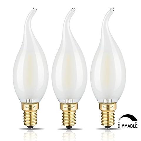 TAMAYKIM C35 2W Dimmable Ampoule Filament LED - 5000K Blanc