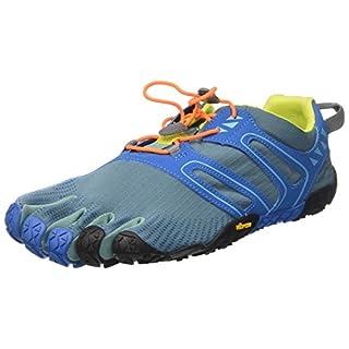 Vibram FiveFingers V, Chaussures de Trail Homme, Bleu (Tapestry/Blue), 46 EU
