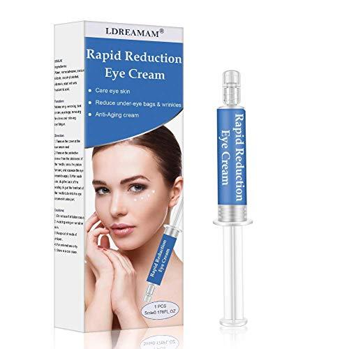 Crema occhi, crema idratante, crema anti-rughe, crema anti-età per gli occhi, migliora le rughe e le rughe, elimina rapidamente le occhiaie e le tasche per gli occhi sotto e intorno agli occhi.