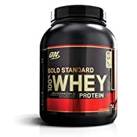 ‏‪OPTIMUM NUTRITION GOLD STANDARD 100% Whey Protein Isolate Powder, Double Rich Chocolate, 5 LB‬‏