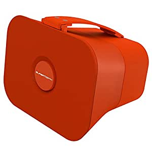SuperTooth Disco 4 Wireless Portable Bluetooth and NFC Speaker System with 3.5mm Jack - Juicy Orange