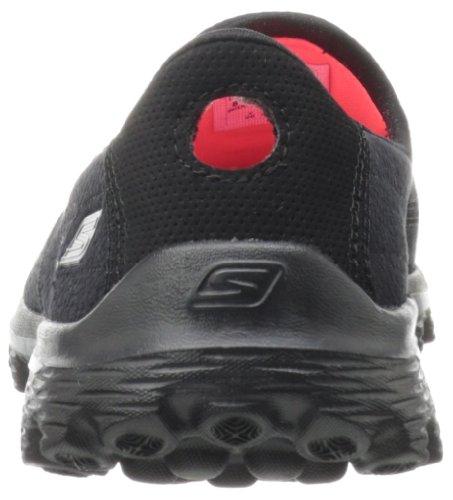 Skechers Go Walk 2 Linear, Sandales d'athlétisme et sports de plein air femme Noir (Black)