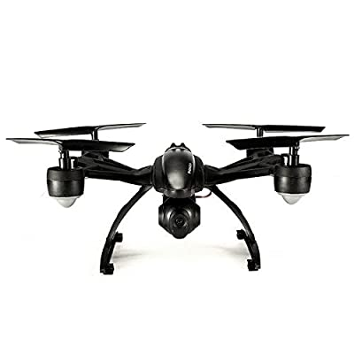 Goolsky 509W Drohne mit amera Live Video Wifi FPV RC Quadcopter with APP Control & Gravity Motion Sensor function for Android/IOS , Altitude Hold & Headless Mode & Eine Taste zurück