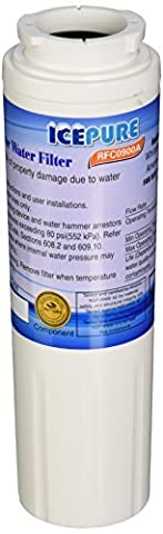IcePure RFC0900A-3pk Water Filter Replacement Cartridge for Kenmore, Maytag, Amana, Jenn-Air, Whirlpool, Kitchenaid by IcePure