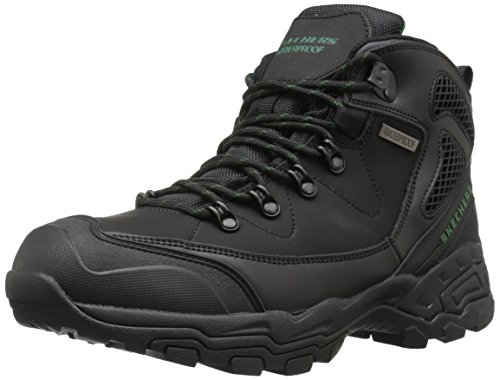 Skechers PEDLEY ASTER Stiefel Outdoor Schuhe Waterproof RELAXED FIT BLK, Schuhgröße:EUR 43 (Fashion Skechers Stiefel)