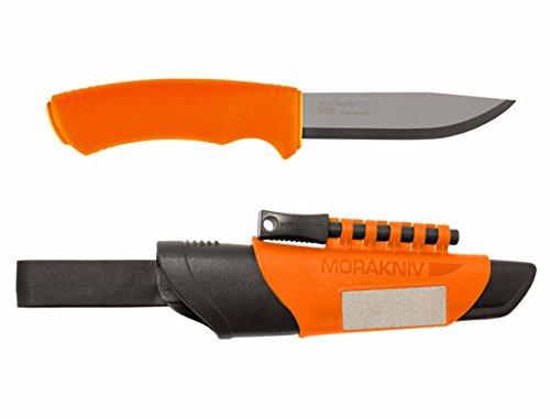 Morakniv Erwachsene Gürtelmesser Bushcraft Survival Jagd-/outdoormesser, Mehrfarbig, 23.0 cm -