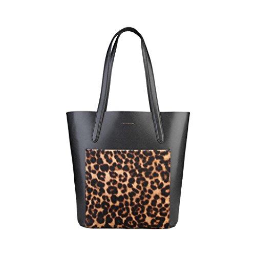 shopping bag Coccinelle Nero Borse - TRINIDAD_TI7-11-02-01_921_NEROMACULATO - NOSIZE