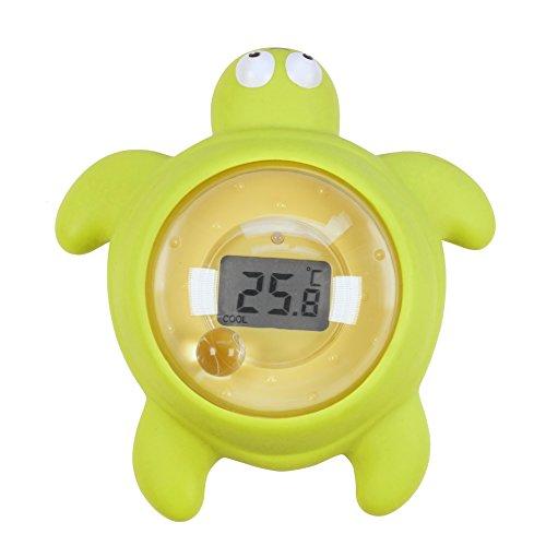 TensCare Tortoo - Digitales Badethermometer Und Baby Badespielzeug
