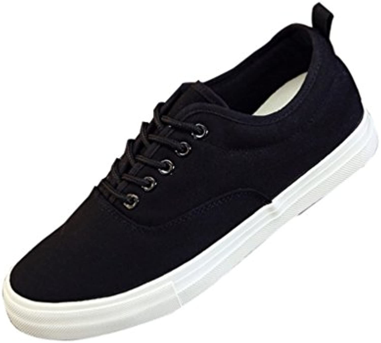 Hombres Zapatos Casuales Moda Zapatos Clásicos de Encaje-up Zapatillas Transpirable Tamaño 39-44  -