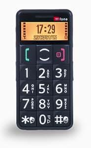 TTfone Mercury Big Button Easy to use Senior Mobile Phone SOS button Large easy read display Black