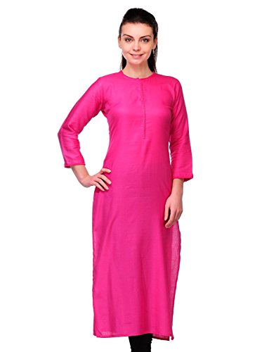 Fusion Multicolor Cap Half Long Short Sleeve Sleeveless Kurtis Kaftan for Girls (GT-KRR-P-XXL)