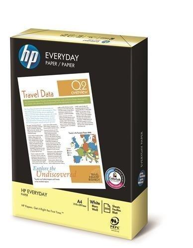 Preisvergleich Produktbild HP Everyday A4 weißes Papier,  1 Ries / Packung mit 500 Blatt
