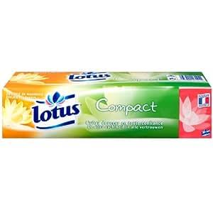 Lotus Compact - Mouchoirs Etuis x 24 Paquets - Lot de 2