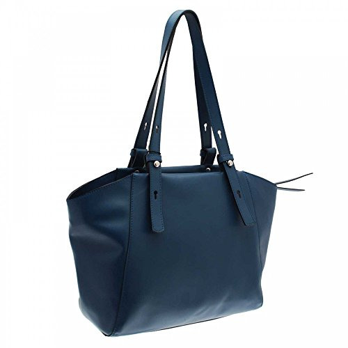 Cats Double Handle Shoulder Handbag Blue