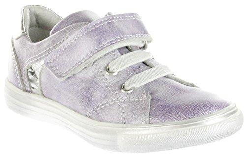 Richter Kinder Halbschuhe lila Metallicleder Mädchen Schuhe 3133-735-4001 Fedora, Farbe:violett, Größe:35 (Mädchen Lila Fedora)