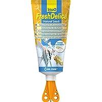 Tetra FreshDelica Brine Shrimps Fish Food, Natural Snack for All Ornamental Fish, 80 g