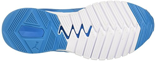 Puma Ignite Dual, Chaussures de Running Compétition Homme Bleu (Blue Danube-puma White 09)