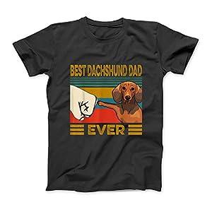 Bester Dachshund Dad Ever T-Shirt SweatshirtHoodie Tank Top für Männer Frauen Kinder