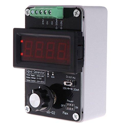 Sps-kit (Hoxin Einstellbare Stromspannung Analoger Simulator 0~20mA Signalgenerator für Signalquellen/Ventileinstellung/Umrichtersteuerung/SPS)