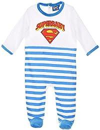 Pyjama bébé 'Superbaby' Superman Bleu et Rouge de 3 à 23mois