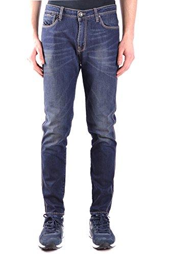 Hosio Herren Mcbi366019o Blau Baumwolle Jeans