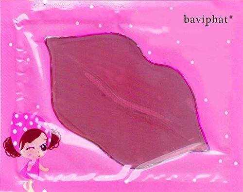 Baviphat® - 10 x Pink Woman Lippenpads – Beautytrend 2016 - Lippenpad mit Hyaluronsäure und Collagen für mehr Lippenvolumen gegen trockene Lippen – Lippenpads Aufpolsterung - Volume Booster - Pflegestifte & Lippenbalsam - Anti Falten / Aging Lippenpflege - Feuchtigkeit für Ihre Lippen / Lips