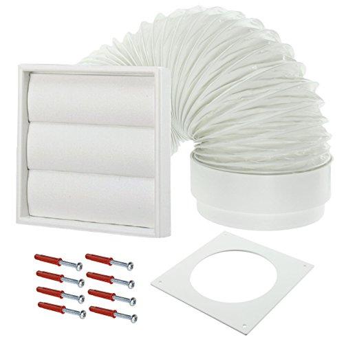 Spares2go Pared Exterior Kit ventilación