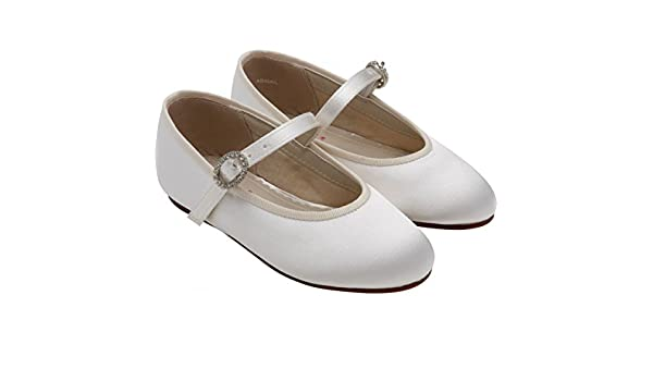 5516bc1b8aac Rainbow Club Abigail Bridesmaid or Communion Shoes  Amazon.co.uk  Shoes    Bags