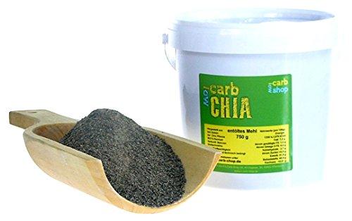 -carb entöltes CHIA Mehl 750 g