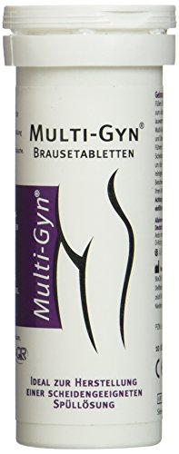 Multi-Gyn Brausetabletten (für Multi-Gyn Vaginaldusche), 10 Stück