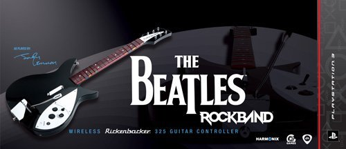 The Beatles: Rock Band PS3 Wireless Rickenbacker 325 Guitar Controller by MTV Games