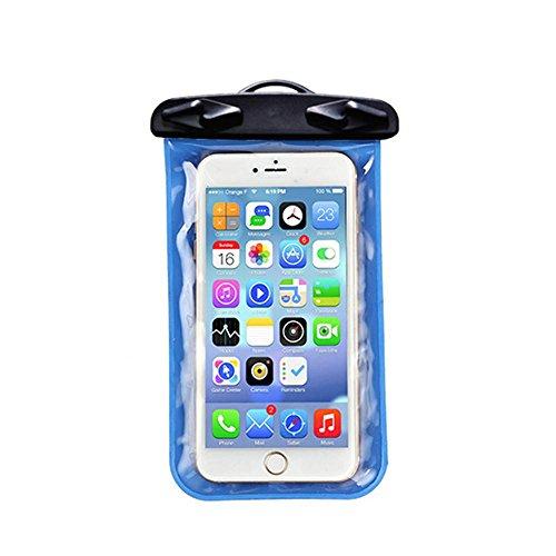 Handy-wasserdichte Tasche Dreieckige Folder PVC-Touchscreen-Kamera Tauchen Schwimmen , blue , (Mann Kostüm Ups Kleinkind)