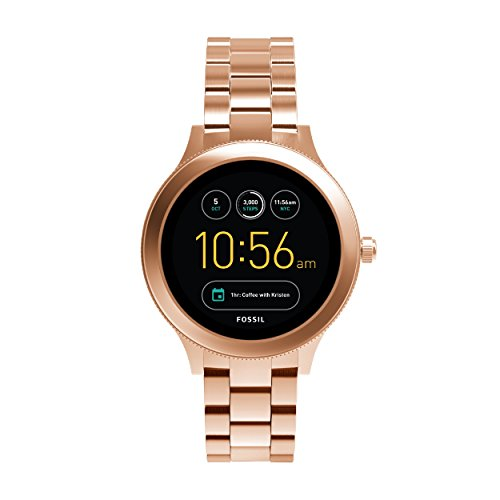 FOSSIL Gen 3 Smartwatch Q Venture Rose Gold Tone Stainless SteelWomens Smartwatch With Bluetooth Technology Activity Tracker Smartphone Notifications