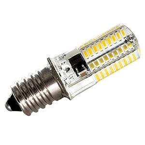 ZEEFO 3 Pack E14 LED Bulbs, Dimmable 220V 4W Warm White 3000K, 72 X 4014 SMD Energy Saving Light Bulbs (35W Halogen E14 Light Bulbs Equivalent) Bulbs For Home, Light Fitting, Crystal Ceiling Light by ZEEFO