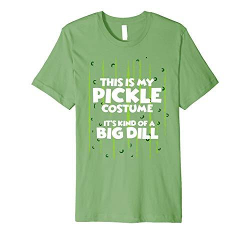 a990b2cd5b Pickle Halloween-Kostüm Shirt Easy Funny Frauen Herren Kinder