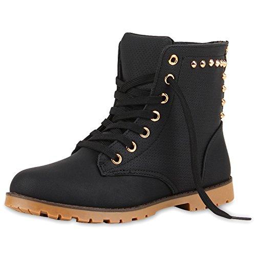 Damen boots Stiefeletten mit Stilettoabsatz Trend Damen STIEFELETTEN Schwarz Neu Nuovo 38 (Ups Kostüm Frauen)