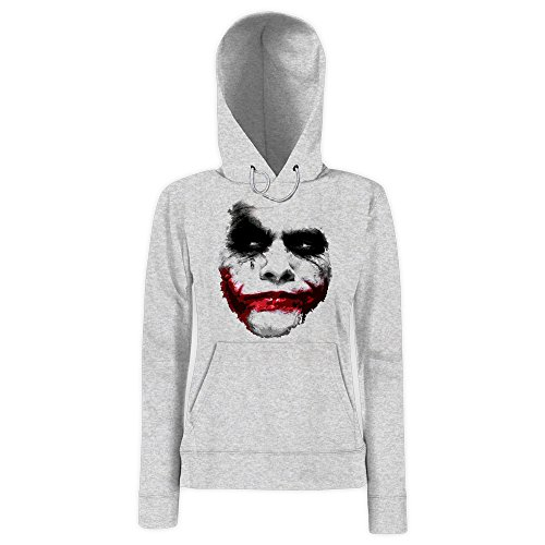 joker-damenhoody-damen-shadow-heath-ledger-dark-night-movie-halloween-farbegrau-heather-gray-f409gro